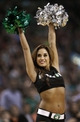 Mar 7, 2014; Boston, MA, USA; A Boston Celtics dancer performs during the second half of Boston's 91-84 win over the Brooklyn Nets at TD Garden. Mandatory Credit: Winslow Townson-USA TODAY Sports