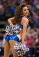Mar 7, 2014; Dallas, TX, USA; The Dallas Mavericks dancers perform during the second half of the game between the Mavericks and the Portland Trail Blazers at the American Airlines Center. The Mavericks defeated the Trail Blazers 103-98. Mandatory Credit: Jerome Miron-USA TODAY Sports