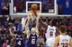 Mar 8, 2014; Los Angeles, CA, USA; Los Angeles Clippers center DeAndre Jordan (6) goes up for a shot against the Atlanta Hawks during the first quarter at Staples Center. Mandatory Credit: Kelvin Kuo-USA TODAY Sports