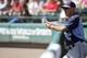 Mar 14, 2014; Lake Buena Vista, FL, USA; Tampa Bay Rays manager Joe Maddon (70) during the fifth inning against the Atlanta Braves at Champion Stadium. Mandatory Credit: Kim Klement-USA TODAY Sports