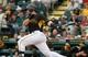 Feb 26, 2014; Bradenton, FL, USA; Pittsburgh Pirates catcher Russell Martin (55) at bat against the New York Yankees at McKechnie Field. Mandatory Credit: Kim Klement-USA TODAY Sports