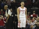 Mar 20, 2014; Houston, TX, USA; Houston Rockets guard Jeremy Lin (7) reacts to a play during the third quarter against the Minnesota Timberwolves at Toyota Center. Mandatory Credit: Andrew Richardson-USA TODAY Sports