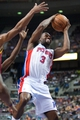 Mar 26, 2014; Auburn Hills, MI, USA; Detroit Pistons guard Rodney Stuckey (3) during the first quarter against the Cleveland Cavaliers at The Palace of Auburn Hills. Mandatory Credit: Tim Fuller-USA TODAY Sports