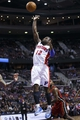 Mar 28, 2014; Auburn Hills, MI, USA; Detroit Pistons guard Will Bynum (12) shoots in the second half against the Miami Heat at The Palace of Auburn Hills. Miami won 110-78.Mandatory Credit: Rick Osentoski-USA TODAY Sports