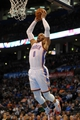 Mar 28, 2014; Oklahoma City, OK, USA; Oklahoma City Thunder guard Russell Westbrook (0) dunks the ball against the Sacramento Kings during the third quarter at Chesapeake Energy Arena. Mandatory Credit: Mark D. Smith-USA TODAY Sports
