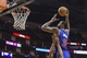 Mar 29, 2014; Houston, TX, USA; Los Angeles Clippers center DeAndre Jordan (6) dunks the ball during the third quarter against the Houston Rockets at Toyota Center. The Clippers defeated the Rockets 118-107. Mandatory Credit: Troy Taormina-USA TODAY Sports