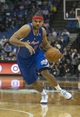 Mar 31, 2014; Minneapolis, MN, USA; Los Angeles Clippers forward Jared Dudley (9) drives to the basket in the first half against the Minnesota Timberwolves at Target Center. Mandatory Credit: Jesse Johnson-USA TODAY Sports