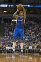 Mar 31, 2014; Minneapolis, MN, USA; Los Angeles Clippers forward Matt Barnes (22) goes up for a shot in the first half against the Minnesota Timberwolves at Target Center. Mandatory Credit: Jesse Johnson-USA TODAY Sports