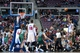Mar 31, 2014; Auburn Hills, MI, USA; Detroit Pistons guard Brandon Jennings (7) shoots the ball during the third quarter against the Milwaukee Bucks at The Palace of Auburn Hills. Pistons won 116-111. Mandatory Credit: Tim Fuller-USA TODAY Sports