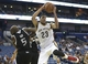 Mar 31, 2014; New Orleans, LA, USA; New Orleans Pelicans forward Anthony Davis (23) reaches for the ball in front of forward Quincy Acy (5) in the second half at the Smoothie King Center. Sacramento defeated New Orleans 102-97. Mandatory Credit: Crystal LoGiudice-USA TODAY Sports