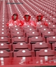 Apr 2, 2014; Cincinnati, OH, USA; Cincinnati Reds fans wait in the rain prior to the game between the Cincinnati Reds and the St. Louis Cardinals at Great American Ball Park. Mandatory Credit: Frank Victores-USA TODAY Sports