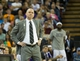 Apr 2, 2014; Sacramento, CA, USA; Sacramento Kings head coach Michael Malone on the sideline against the Los Angeles Lakers during the second quarter at Sleep Train Arena. Mandatory Credit: Kelley L Cox-USA TODAY Sports