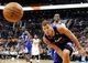 Apr 2, 2014; Phoenix, AZ, USA; Los Angeles Clippers forward Blake Griffin (32) goes after the ball during the fourth quarter against the Phoenix Suns at US Airways Center. The Clippers won 112-108. Mandatory Credit: Casey Sapio-USA TODAY Sports