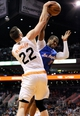 Apr 2, 2014; Phoenix, AZ, USA; Phoenix Suns center Miles Plumlee (22) and Los Angeles Clippers guard Chris Paul (3) battle for the ball during the third quarter at US Airways Center. The Clippers won 112-108. Mandatory Credit: Casey Sapio-USA TODAY Sports