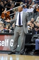 Apr 2, 2014; Phoenix, AZ, USA; Los Angeles Clippers head coach Doc Rivers reacts during the third quarter against the Phoenix Suns at US Airways Center. The Clippers won 112-108. Mandatory Credit: Casey Sapio-USA TODAY Sports