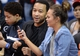 Apr 3, 2014; Los Angeles, CA, USA; Grammy winning singer John Legend and his wife Chrissy Teigen attend the game between the Los Angeles Clippers and the Dallas Mavericks at Staples Center. Mavericks won 113-107. Mandatory Credit: Jayne Kamin-Oncea-USA TODAY Sports