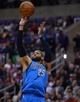 Apr 3, 2014; Los Angeles, CA, USA;   Dallas Mavericks guard Vince Carter (25) takes a jump shot in the second half of the game against the Los Angeles Clippers at Staples Center. Mavericks won 113-107. Mandatory Credit: Jayne Kamin-Oncea-USA TODAY Sports