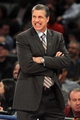 Apr 4, 2014; New York, NY, USA; Washington Wizards head coach Randy Wittman reacts during the first quarter of a game against the New York Knicks at Madison Square Garden. Mandatory Credit: Brad Penner-USA TODAY Sports