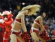 Apr 4, 2014; Chicago, IL, USA; The Luvabulls perform during the second half of a game between the Chicago Bulls and the Milwaukee Bucks at the United Center. The Chicago Bulls defeated the Milwaukee Bucks 102-90. Mandatory Credit: David Banks-USA TODAY Sports