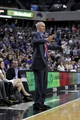 Apr 6, 2014; Sacramento, CA, USA; Dallas Mavericks head coach Rick Carlisle directs his team during action against the Sacramento Kings in the fourth quarter at Sleep Train Arena. The Mavericks defeated the Kings 93-91. Mandatory Credit: Cary Edmondson-USA TODAY Sports