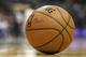 Apr 8, 2014; Atlanta, GA, USA; Detailed view of a Spalding basketball during a game between the Detroit Pistons and Atlanta Hawks in the third quarter at Philips Arena. Mandatory Credit: Brett Davis-USA TODAY Sports
