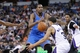 Apr 8, 2014; Sacramento, CA, USA; Oklahoma City Thunder forward Kevin Durant (35) has the ball knocked out of his hands by Sacramento Kings guard Ray McCallum (3) in the third quarter at Sleep Train Arena. The Thunder defeated the Kings 107-92. Mandatory Credit: Cary Edmondson-USA TODAY Sports