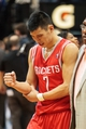 Apr 11, 2014; Minneapolis, MN, USA; Houston Rockets guard Jeremy Lin (7) in pain after the game against the Minnesota Timberwolves at Target Center. The Minnesota Timberwolves win 112-110. Mandatory Credit: Brad Rempel-USA TODAY Sports