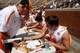 Apr 12, 2014; Knoxville, TN, USA; Tennessee Volunteers quarterback Justin Worley (14) signs autographs for fans before  the orange and white spring game at Neyland Stadium. Mandatory Credit: Randy Sartin-USA TODAY Sports