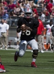 Apr 12, 2014; Columbus, OH, USA; Ohio State gray team quarterback J.T. Barrett (16) looks for an open receiver  during the Ohio State Buckeyes spring game at Ohio Stadium. The scarlet team won the game 17-7. Mandatory Credit: Greg Bartram-USA TODAY Sports