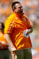 Apr 12, 2014; Knoxville, TN, USA; Tennessee Volunteers head coach Butch Jones during the orange and white spring game at Neyland Stadium. Mandatory Credit: Randy Sartin-USA TODAY Sports