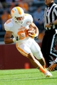Apr 12, 2014; Knoxville, TN, USA; Tennessee Volunteers running back Justus Pickett runs with the ball during spring game at Neyland Stadium. Mandatory Credit: Randy Sartin-USA TODAY Sports
