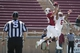 April 12, 2014; Stanford, CA, USA; Stanford Cardinal wide receiver Devon Cajuste (89) catches a touchdown pass against cornerback Taijuan Thomas (6) during the spring game at Stanford Stadium. Mandatory Credit: Kyle Terada-USA TODAY Sports