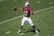April 12, 2014; Stanford, CA, USA; Stanford Cardinal quarterback Ryan Burns (17) passes the football during the spring game at Stanford Stadium. Mandatory Credit: Kyle Terada-USA TODAY Sports