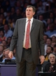 Apr 8, 2014; Los Angeles, CA, USA; Houston Rockets coach Kevin McHale reacts during the game against the Los Angeles Lakers at Staples Center. Mandatory Credit: Kirby Lee-USA TODAY Sports
