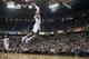 Apr 13, 2014; Sacramento, CA, USA; Sacramento Kings guard Ray McCallum (3) dunks the ball during the fourth quarter of the game against the Minnesota Timberwolves at Sleep Train Arena. The Sacramento Kings defeated the Minnesota Timberwolves 106-103. Mandatory Credit: Ed Szczepanski-USA TODAY Sports