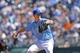 Apr 9, 2014; Kansas City, MO, USA; Kansas City Royals pitcher Jeremy Guthrie (11) delivers a pitch against the Tampa Bay Rays during the fifth inning at Kauffman Stadium. Mandatory Credit: Peter G. Aiken-USA TODAY Sports
