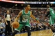 Apr 14, 2014; Philadelphia, PA, USA; Boston Celtics guard Phil Pressey (26) looks to pass during the second quarter of the game against the Philadelphia 76ers at Wells Fargo Center. Mandatory Credit: John Geliebter-USA TODAY Sports