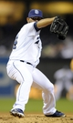 Apr 14, 2014; San Diego, CA, USA; San Diego Padres relief pitcher Alex Torres (54) throws during the sixth inning against the Colorado Rockies at Petco Park. Mandatory Credit: Christopher Hanewinckel-USA TODAY Sports