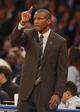 Apr 16, 2014; New York, NY, USA;  Toronto Raptors head coach Dwane Casey during the first half of game against the New York Knicks at Madison Square Garden. Mandatory Credit: Jim O'Connor-USA TODAY Sports