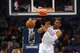 Apr 16, 2014; Oklahoma City, OK, USA; Oklahoma City Thunder guard Russell Westbrook (0) dunks the ball against the Detroit Pistons during the second quarter at Chesapeake Energy Arena. Mandatory Credit: Mark D. Smith-USA TODAY Sports