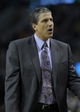 Apr 16, 2014; Boston, MA, USA; Washington Wizards head coach Randy Wittman during the first half against the Boston Celtics at TD Garden. Mandatory Credit: Bob DeChiara-USA TODAY Sports