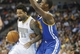 Apr 16, 2014; Denver, CO, USA; Denver Nuggets forward Wilson Chandler (21) drives to the basket during the first quarter against the Golden State Warriors at Pepsi Center. Mandatory Credit: Chris Humphreys-USA TODAY Sports