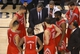 Apr 2, 2014; Toronto, Ontario, CAN; Houston Rockets head coach Kevin McHale talks to his players during a timeout against the Toronto Raptors at Air Canada Centre. The Raptors beat the Rockets 107-103. Mandatory Credit: Tom Szczerbowski-USA TODAY Sports