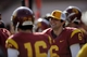 Apr 19, 2014; Los Angeles, CA, USA; Southern California quarterback Cody Kessler (6) on the sidelines during the Southern California Spring Game at Los Angeles Memorial Coliseum. Mandatory Credit: Kelvin Kuo-USA TODAY Sports