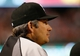 Apr 19, 2014; Arlington, TX, USA; Chicago White Sox manager Robin Ventura (23) looks on during the game against the Texas Rangers at Globe Life Park in Arlington. Texas won 6-3. Mandatory Credit: Kevin Jairaj-USA TODAY Sports