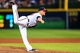 Apr 21, 2014; Atlanta, GA, USA; Atlanta Braves relief pitcher Craig Kimbrel (46) pitches in the ninth inning against the Miami Marlins at Turner Field. Mandatory Credit: Daniel Shirey-USA TODAY Sports
