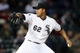 Apr 29, 2014; Chicago, IL, USA; Chicago White Sox starting pitcher Jose Quintana throws a pitch against the Detroit Tigers in the second inning at U.S Cellular Field. Mandatory Credit: Jerry Lai-USA TODAY Sports