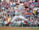 May 2, 2014; Philadelphia, PA, USA; Washington Nationals starting pitcher Stephen Strasburg (37) throws a pitch against the Philadelphia Phillies during the first inning at Citizens Bank Park. Mandatory Credit: Eric Hartline-USA TODAY Sports