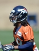 May 28, 2013; Englewood, CO, USA; Denver Broncos cornerback Bradley Roby (29) during organized team activities at the Broncos training facility. Mandatory Credit: Ron Chenoy-USA TODAY Sports