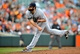 May 14, 2014; Baltimore, MD, USA; Detroit Tigers pitcher Joba Chamberlain (44) pitches in the eighth inning against the Baltimore Orioles at Oriole Park at Camden Yards. The Tigers defeated the Orioles 7-5. Mandatory Credit: Joy R. Absalon-USA TODAY Sports